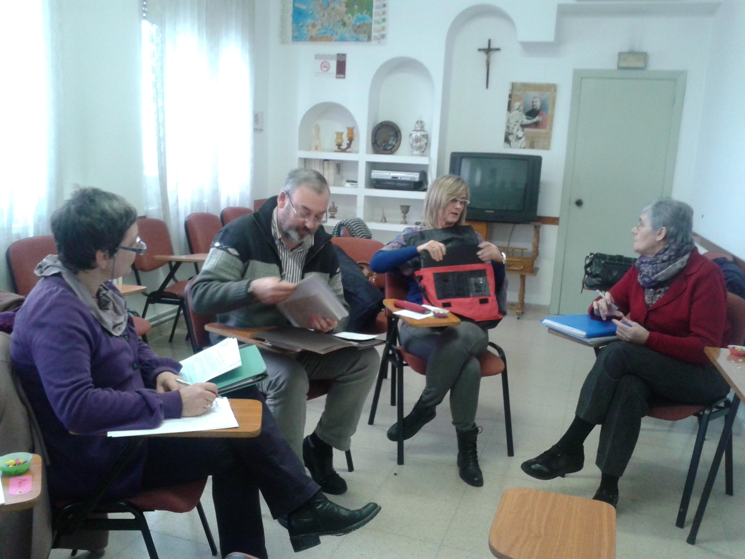 Reunión E. Cdes. DEIC 2 - Zgza, 10 enero 2014